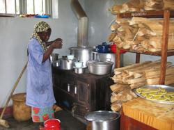 Dans la cuisine à Butembo