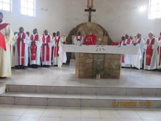 Célébration religieuse pour la paix