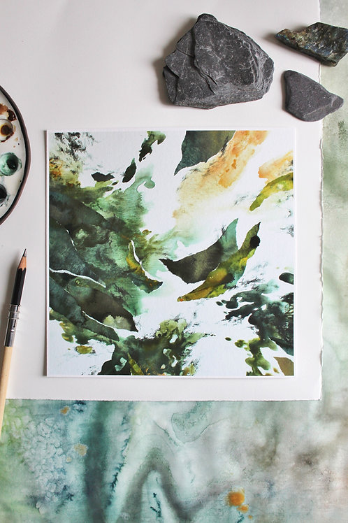 Huntress // Original Print