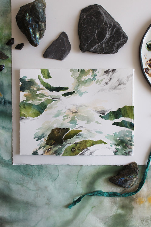 I Tread Softly On Moss and Myth