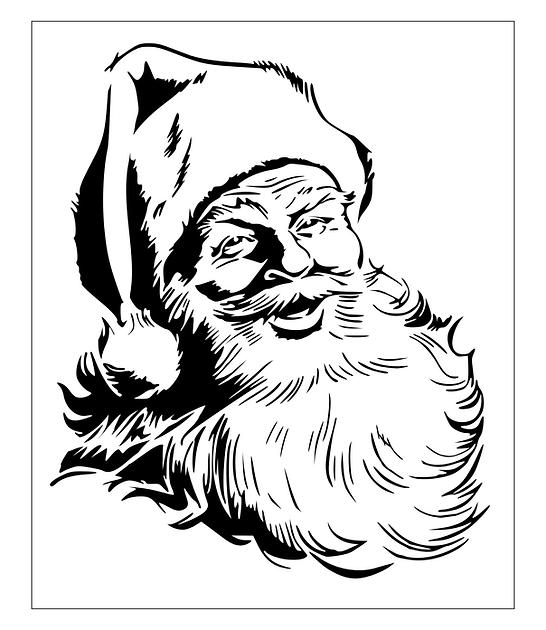 Santa Scroll Sa Pattern