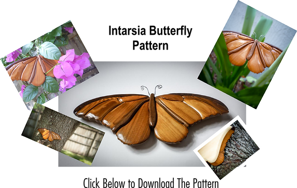 Intarsia Butterfly