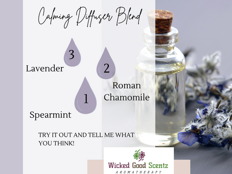 Need a Safe Calming Diffuser Blend?