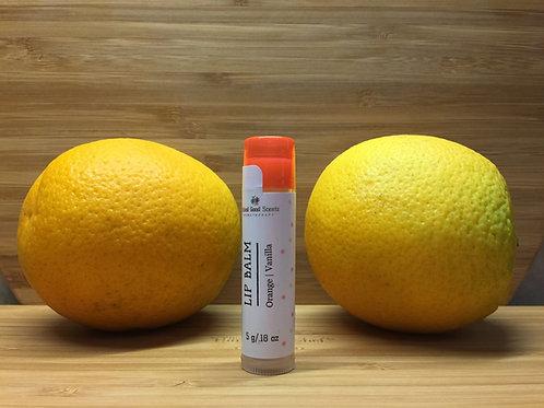 Orange | Vanilla Lip Balm
