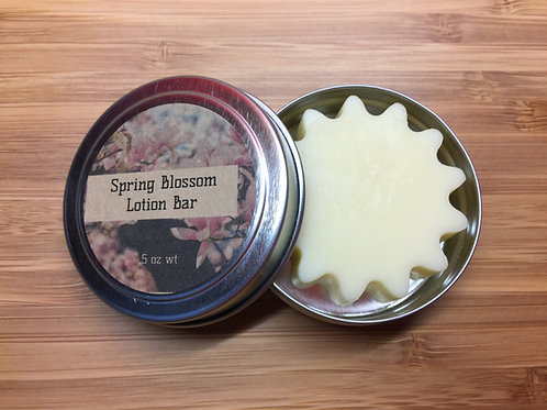 Spring Blossom Lotion Bar