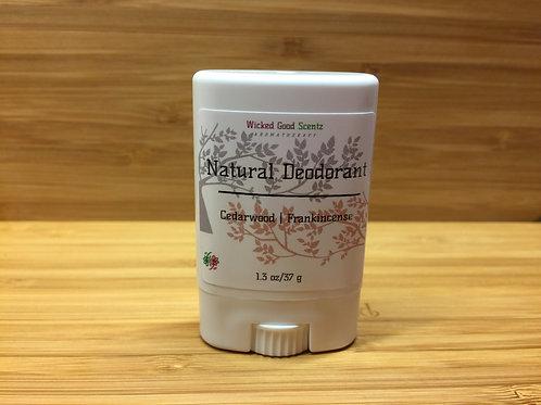 Natural Deodorant Travel Size