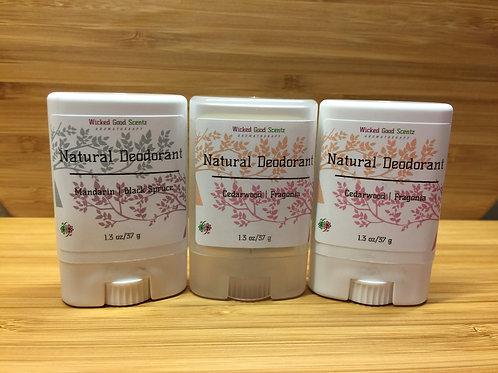 BULK Order Travel Natural Deodorant