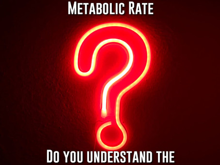 Metabolism and Your Metabolic Rate