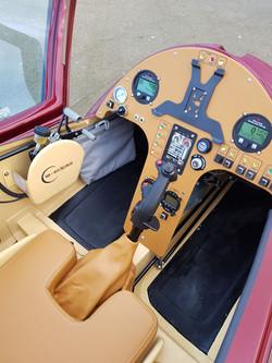 ELA10 Eclipse cockpit