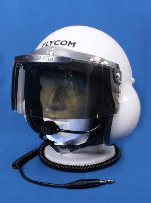 Flycom, Half Size Visor - Light Tint