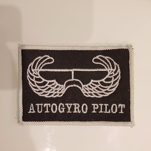 Embroidered Autogyro Pilot Wings