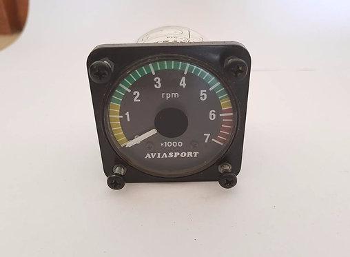 AVIASPORT ROTAX 912 TACHOMETER - 2 1/4 IN