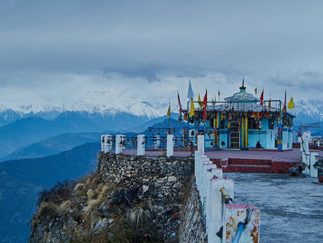 The Beautiful Kartik Swami Temple, Uttarakhand