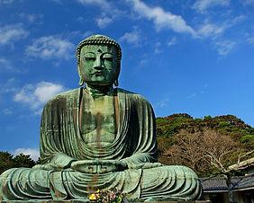 The Giant Buddha of Kamakura in Japan