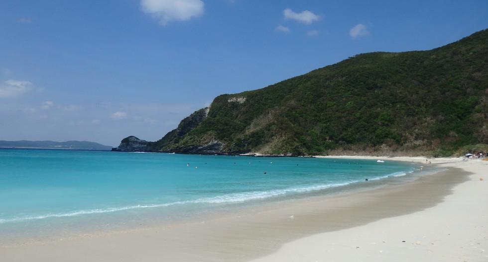 Private Beach on Tokashiki Island