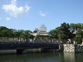 Himeji Castle in Himeji City, Japan