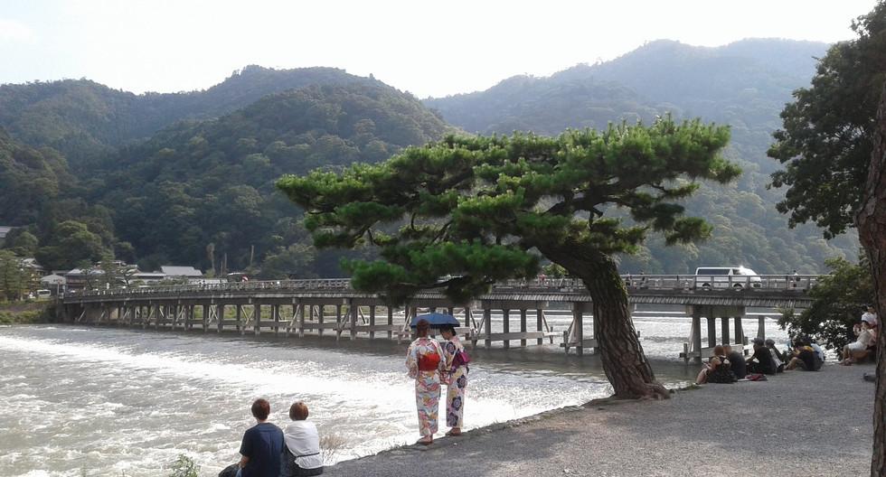 Arashiyama in Kyoto