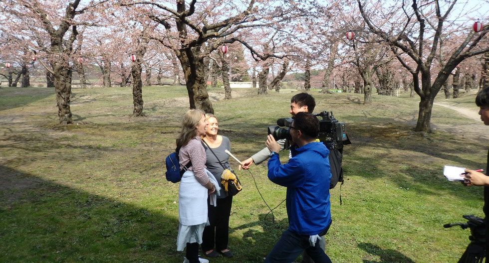 Hakodate TV Interview