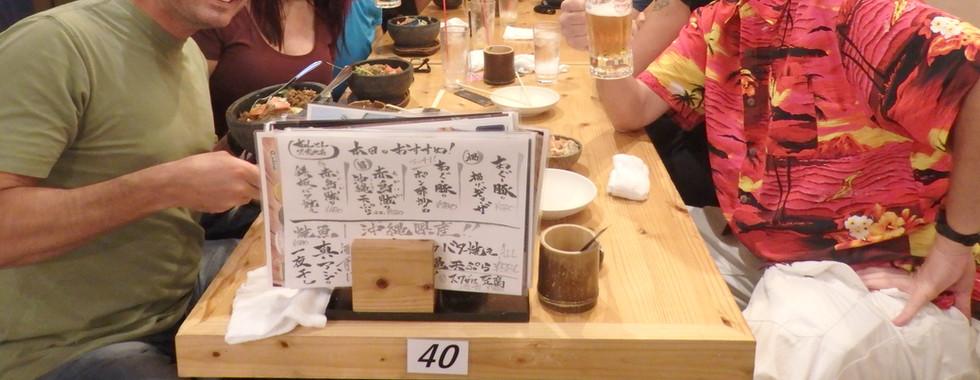 Traditional Izakaya Dinner