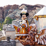 One of our fully escorted private tours of Japan with Mickey Mouse at Tokyo Disneyland.