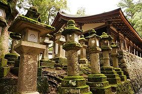 Kasuga Grand Shrine in Nara, Japan