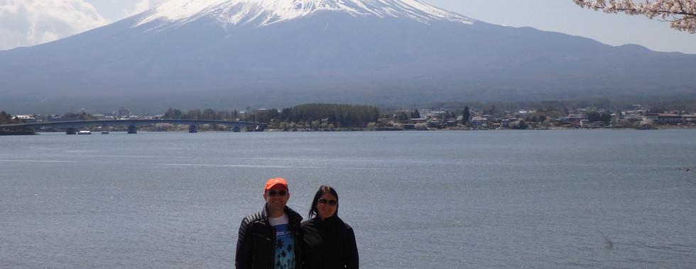 Mt. Fuji and Kawaguchi Lake