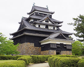 The UNESCO World Heritage listed Matsue Castle in Matsue city, Japan