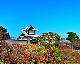 Kanazawa Castle and Kenrokuen Garden in Kanazawa, Japan