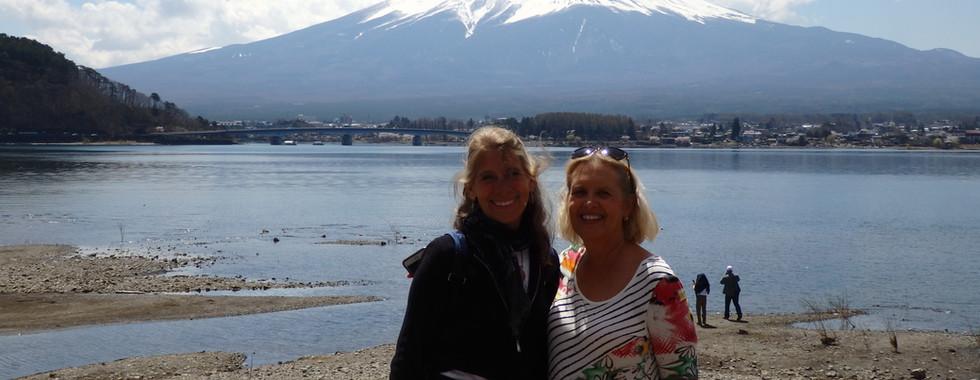 Lake Kawaguchi and Mt Fuji