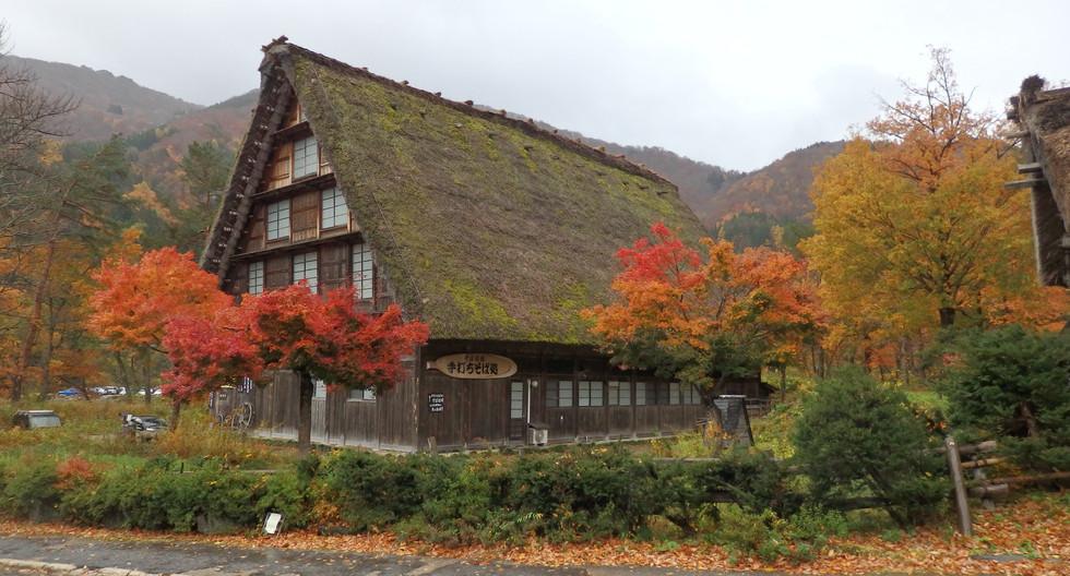 Shirakawago Village in Autumn