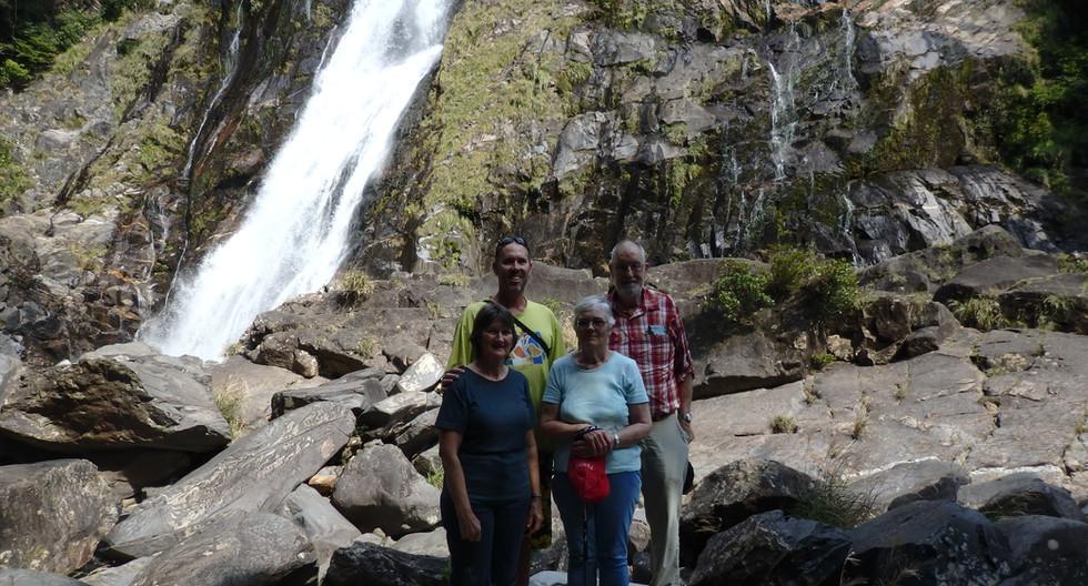 Okawa Waterfalls on Yakushima Island