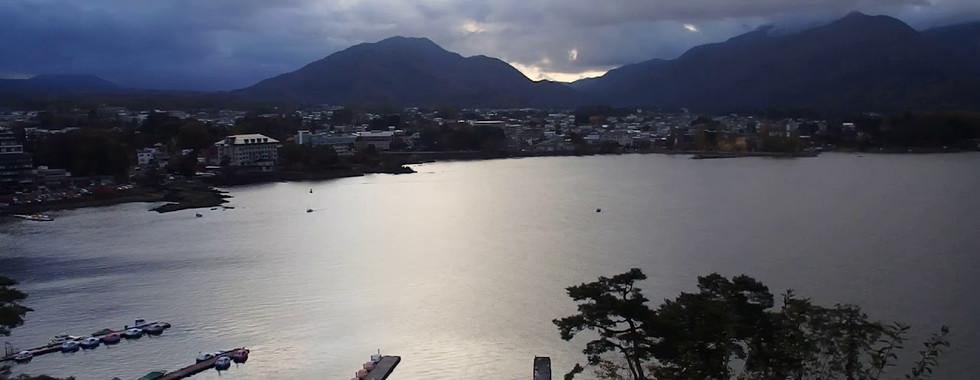 Lake Kawaguchi in Autumn