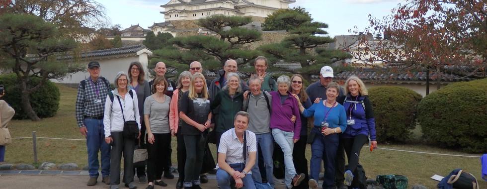 Himeji Castle Group Photo