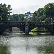One of our fully escorted private tours of Japan at the Imperial Palace in Tokyo.