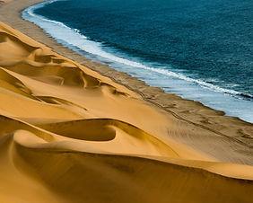 The Tottori Sand Dunes in Tottori prefecture, Japan