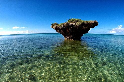 Ocean view on Ishigaki Island in Okinawa, Japan