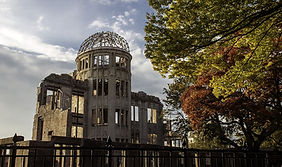 The A-bomb Dome in Hiroshima, Japan