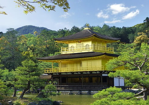 The amazing Golden Pavilion (Kinkakuji) in Kyoto, Japan