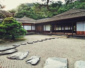 An historic samurai house in Kakunodate, Japan
