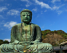 The Giant Buddha of Kamakura in Kamakura, Japan