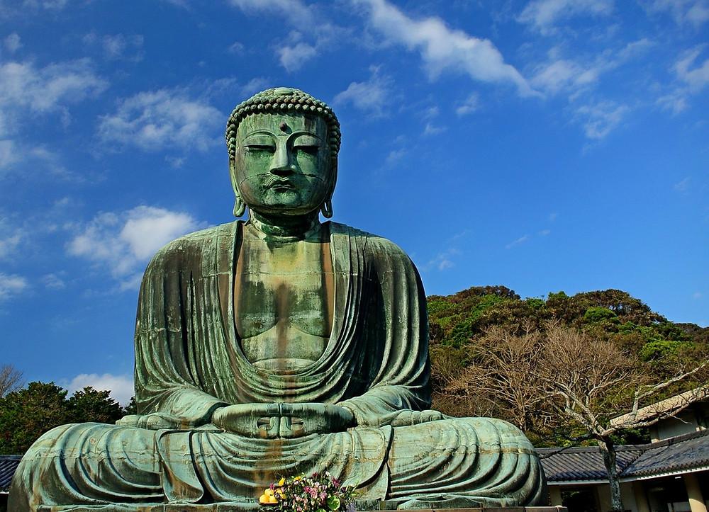 The Giant Buddha of Kamakura