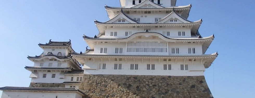 360 degree view of Himeji Castle and its grounds