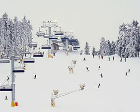 Ski resort in Karuizawa, Japan