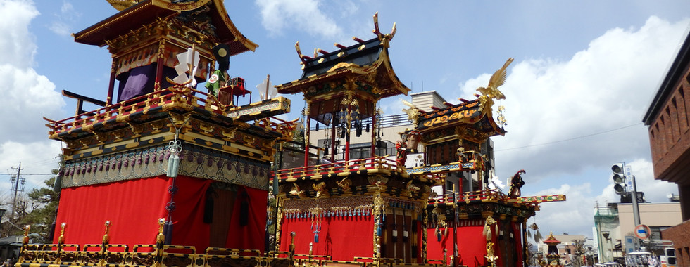 Takayama Festival Floats