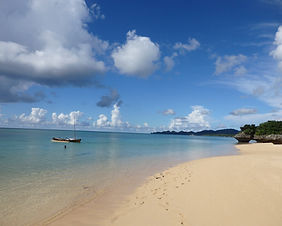 Sunset Beach on Ishigaki Island in Okinawa, Japan