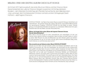 STIL NACH MASS ist Chocolat Rouge Sponsor