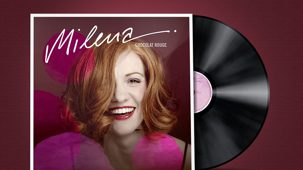 "MILENA Vinyl LP ""Chocolat Rouge"""