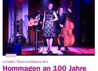 19.12.15 Konzert in Bern - 100 JAHRE EDITH PIAF