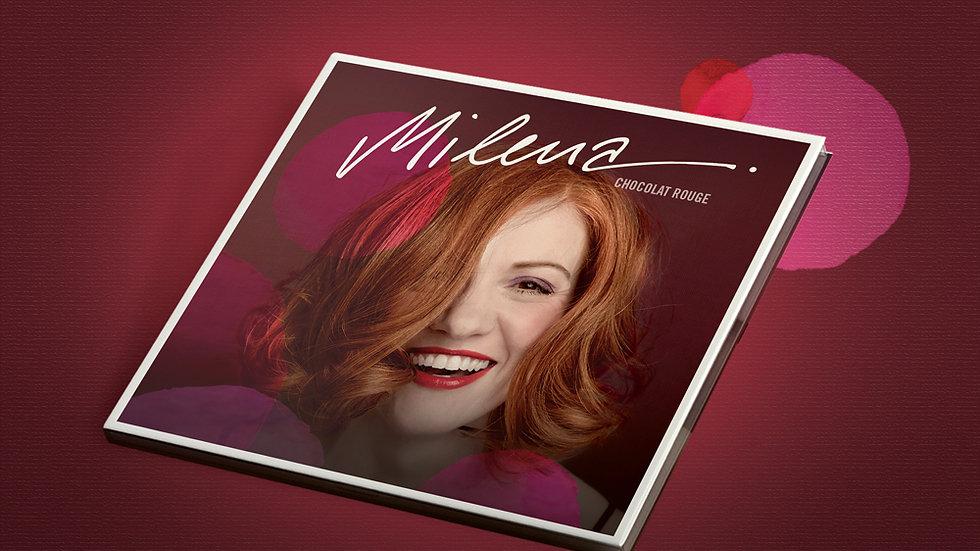 "MILENA CD ""Chocolat Rouge"""