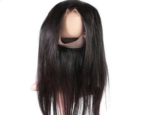 Silk straight 360 Lace frontal